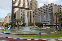 South Africa, Cape Town.  The Fountains, corner of Adderley St. and Hans Strijdom Ave.