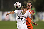 14 November 2008: Wake Forest's Danny Wenzel (20). The University of Virginia defeated Wake Forest 3-2 in two overtimes at WakeMed Stadium at WakeMed Soccer Park in Cary, NC in a men's ACC tournament semifinal game.