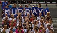 Murray fans at Rod Laver Arena as Andy Murray (GBR) (5) against Roger Federer (SUI) (1) in the Final of the Mens Singles. Federer beat Murray 6-3 6-4 7-6..International Tennis - Australian Open Tennis - Sunday 31 Jan 2010 - Melbourne Park - Melbourne - Australia ..© Frey - AMN Images, 1st Floor, Barry House, 20-22 Worple Road, London, SW19 4DH.Tel - +44 20 8947 0100.mfrey@advantagemedianet.com