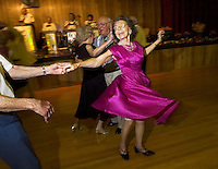 Janie Erickson dances with Bob Hinton in memory of Bill Rase, band leader, disc jockey and television personality at Elks Lodge No. 6. A few hundred people came to pay their respects to Rase who died May 18th. June 4, 2006.