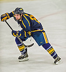 29 December 2013:  Canisius College Golden Griffins forward Jack Hidi, a Freshman from Toronto, Ontario, in action during the third period against the University of Vermont Catamounts at Gutterson Fieldhouse in Burlington, Vermont. The Catamounts defeated the Golden Griffins 6-2 in the 2013 Sheraton/TD Bank Catamount Cup NCAA Hockey Tournament. Mandatory Credit: Ed Wolfstein Photo *** RAW (NEF) Image File Available ***