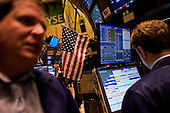 New York, New York.USA.March 06, 2009..The New York Stock Exchange the day that