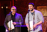 David Yazbek and Itamar Moses  attend 2017 New York Drama Critics' Circle Awards Reception at Feinstein's/54 Below on May 18, 2017 in New York City.