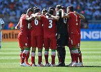 FUSSBALL WM 2014  VORRUNDE    GRUPPE F     Argentinien - Iran                         21.06.2014 Spielerkreis Iran