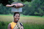 A woman in Riimenze, a village in Southern Sudan's Western Equatoria State.