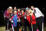 Drink Awareness Wales.Carmarthen Hockey Club.Shannon Chapman, Carys Thomas, Ffion Evans, Kate Williams, Gwenno Davies, Fiona Kerray, Eleanor Phillips & Ruby Breeze..04.12.12..©Steve Pope