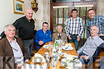 Kerry Bird Watchers Christmas Party at Bella Bia's on SaturdayPictured l-r Peter McDermott, Edward Carty, David O'Connor, Frank King, Maurice Hanafin, Seamus Enright, Michael O'Keeffe
