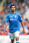 St Johnstone v Aberdeen...23.08.14  SPFL<br /> New signing Simon Lappin makes his debut<br /> Picture by Graeme Hart.<br /> Copyright Perthshire Picture Agency<br /> Tel: 01738 623350  Mobile: 07990 594431