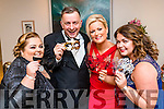 Siobhan Power, Pierce Ferriter, Lisa Ferriter, Marie Fitzgibbon, pictured at the Pieta House Masquerade Ball on Friday night last held in the Rose Hotel, Tralee.