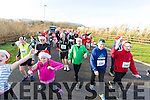 The Santa Run in Tralee on Sunday at Tralee Wetlands.