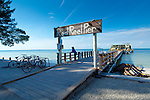 Florida, Anna Maria Island, Rod And Reel Pier, Manatee County, Tampa Bay, Gulf Of Mexico