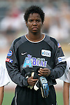 2 August 2003: Briana Scurry. The Philadelphia Charge defeated the Atlanta Beat 3-0 at Villanova Stadium in Villanova, PA in a regular season WUSA game.