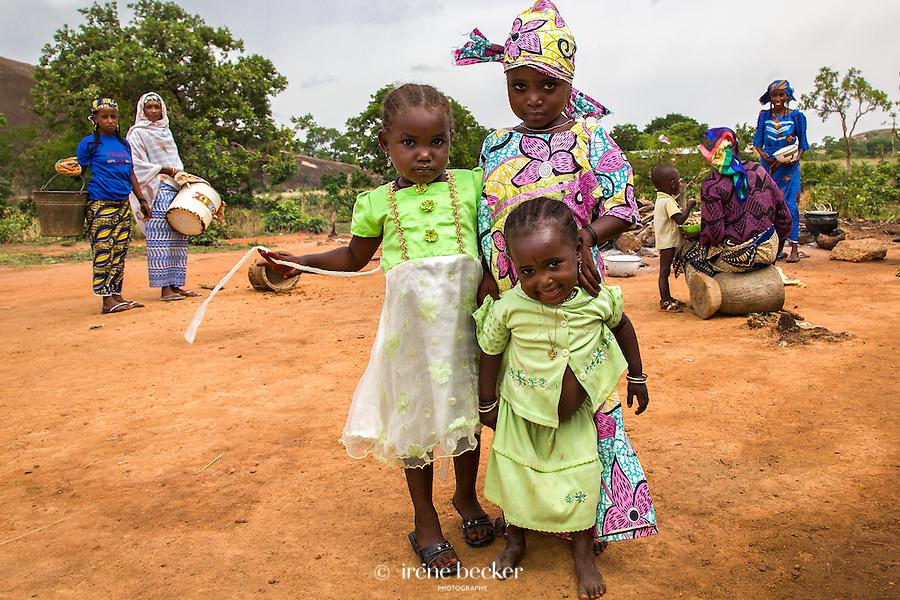 Fulani village. Kajuru, Kaduna State, Nigeria