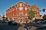 Main Street in downtown Doylestown, PA