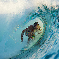 Namotu Island Resort, Namotu, Fiji. (Saturday May 3, 2014) –  There were small waves in the 3'-4' range today with light winds and clear blue skies. There were sessions at Wilkes pass and Cloudbreak through the day. Photo: joliphotos.com