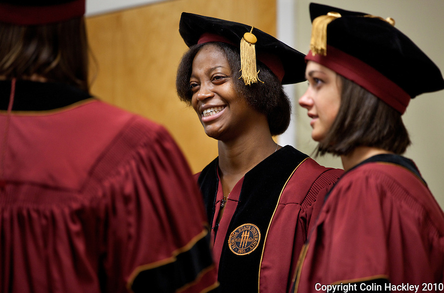 TALLAHASSEE, FLA. 5/21/11-FSUMED052111 CH- during the Florida State University College of Medicine Commencement Ceremony Saturday in Tallahassee..COLIN HACKLEY PHOTO