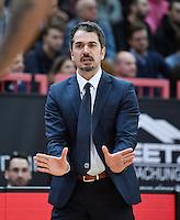 Basketball  1. Bundesliga  2016/2017  Hauptrunde  14. Spieltag  16.12.2016 Walter Tigers Tuebingen - Alba Berlin Trainer Ahmet Caki (Alba)