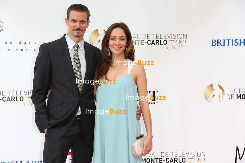 CPE/Gabriella Pession and guest attend the opening ceremony of the 53rd Monte Carlo TV Festival on June 9, 2013 in Monte-Carlo, Monaco