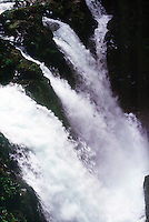 WATERFALLS<br /> Waterfall, Hoh Rain Forest, Olympic National Park