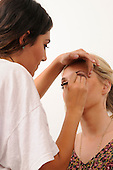 Royalty Free Stock Photos of a make up artist Royalty Free Stock Photo Makeup Artisit