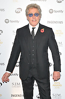 Roger Daltrey at the Music Industry Trusts Awards 2016, Grosvenor House Hotel, Park Lane, London, England, UK, on Monday 07 November 2016. <br /> CAP/CAN<br /> &copy;CAN/Capital Pictures /MediaPunch ***NORTH AND SOUTH AMERICAS ONLY***