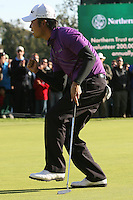 02/20/11 Pacific Palisades, CA:  Kevin Na during the final round of the Northern Trust Open held at the Riviera Country Club.Baddeley won the Tournament by two strokes over Vijay Singh.