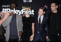 NEW YORK, NY-October 19: Chris Chalk, Erin Richards, Ben McKenzie, Cory Michael Smith, at PaleyFest New York presents Gotham at the Paley Center for Media in New York.October 19, 2016. Credit:RW/MediaPunch