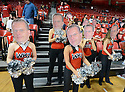 The Topperettes wear Harper heads Thursday, Feb. 23, 2012, at E.A. Diddle Arena in Bowling Green, Ky. The Hilltoppers defeated ASU 79-76 on a last second shot. (Photo by Joe Imel/Daily News)