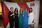 CIPR Cymru 2012.Deina Hockenhull, Dija Oliver, Karen Fulham & Diane Phillips.Cardiff Hilton.19.10.12.©Steve Pope