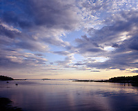 Penobscot Bay, Maine sunset
