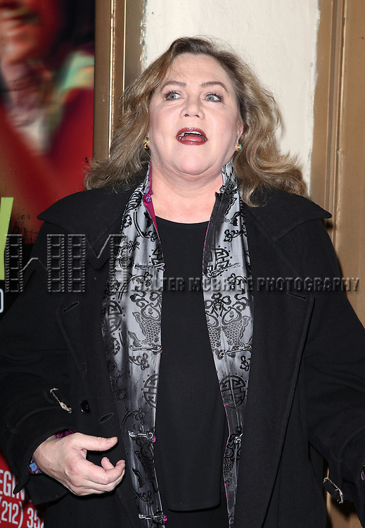 Kathleen Turner attending the Opening Night Performance of MCC Theater's 'Really Really' at The Lucille Lortel Theatre in New York City on 2/19/2013