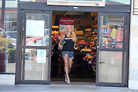 Mary Carey Shops At The Supermarket