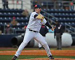 Former Rebel Drew Pomeranz at Ole Miss baseball alumni game at Oxford-University Stadium in Oxford, Miss. on Saturday, February 5, 2011.