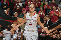 Stanford, CA, November 20, 2014<br /> Stanford Women's Basketball vs Texas at Maples Pavilion. Stanford lost in overtime 87-81