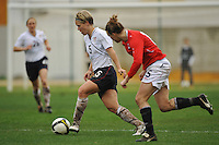 Lori Lindsey vs Norway during the 2010 Algarve Cup