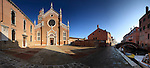 The Madonna dell'Orto is a church in Venice, Italy, in the sestiere of Cannaregio. The church, erected in the second half of the XIV century, is without any doubt one of the finest example of the Venetian gothic architecture.