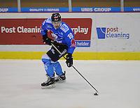 IJSHOCKEY: HEERENVEEN; 2015, IJstadion Thialf, UNIS Flyers, Mitch Bruijsten (#18), ©foto Martin de Jong