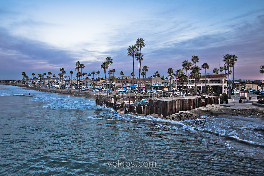 Newport beach businesses at newport pier photo travel for Newport pier fishing