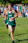 Eagle junior Jeff Herr during the NNU Invite at West Park in Nampa, ID on September 11, 2010. Herr finished twelfth with a time of 16:38.17.