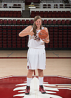 Stanford, California - Tuesday, September 17, 2014: Stanford women's basketball team portraits and team photos.