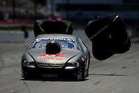 May 5, 2012; Commerce, GA, USA: NHRA pro stock driver Erica Enders during qualifying for the Southern Nationals at Atlanta Dragway. Mandatory Credit: Mark J. Rebilas-