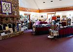Horton Vineyards has given over one side of the tasting room to selling souvenirs and other wine-related items.