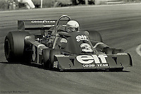 ANDERSTORP - JUNE 13: Jody Scheckter drives the Tyrrell P34 3/Ford Cosworth DFV during the Swedish Grand Prix on June 13, 1976, at Scandinavian Raceway near Anderstorp, Sweden.