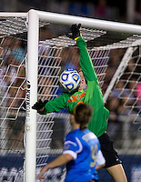 Morgan Stearns. UCLA advanced on penalty kicks after defeating Virginia, 1-1, in regulation time at the NCAA Women's College Cup semifinals at WakeMed Soccer Park in Cary, NC.