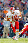 13 November 2005: Kansas City Chiefs quarterback Trent Green prepares to make a hand-off against the Buffalo Bills at Ralph Wilson Stadium in Orchard Park, NY. The Bills defeated the Chiefs 14-3. ..Mandatory Photo Credit: Ed Wolfstein