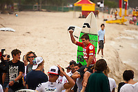 "BURLEIGH HEADS, Queensland/Australia (Saturday, 29 January, 2012) Wade Carmichael (AUS). – Caio Ibelli (BRA) and Leila Hurst (HAW) have claimed the Men's and Women's ASP World Junior Titles at the Billabong World Junior Championships today. The pair join a prestigious list of former ASP World Junior Champions, including: Adriano De Souza (BRA), Joel Parkinson (AUS), Andy Irons (AUS), Jessi Miley-Dyer (AUS) and Sally Fitzgibbons (AUS). ..Wade Carmichael (AUS) and Alessa Quizon (HAW) were also amongst the winners today, taking out the third and final event of the ASP World Junior Title Series, the Billabong ASP World Junior Championships...The Men's ASP World Junior Title race saw all the frontrunners bow out early today with Jack Freestone (AUS) eliminated by Medi Veminardi (REU) and Ian Gouveia (BRA) taken out by Wade Carmichael (AUS) in the Quarterfinals. Carmichael had a sensational outing at Burleigh Heads this week, gaining entry into the event with a win at the Von Zipper trials and then sticking it to the world's best junior surfers with a win at the Billabong ASP World Junior Championships...Another frontrunner, Garrett Parkes (AUS), needed to advance out of today's Quarterfinals to clinch the 2011 ASP World Junior Title, but was halted by South American sensation Filipe Toledo (BRA). Parkes's ousting in the Quarterfinals resulted in a tie with Caio Ibelli (BRA) for the top spot on the ASP World Junior Title rankings, requiring a ""Surf-Off"" to determine the champion...Caio Ibelli (BRA) started the Surf-Off with a couple of minor scores, it was clear that he was going for something big. Garret Parkes (AUS) on the other hand started chipping away at the lead, posting some scores in the good range to give him an early lead. Ibelli found a wave that linked up and unleashed some solid carves and a massive air-reverse to score an 8.67 (out of a possible 10), to swing momentum his way and take the lead. Parkes had a last minute chance to claim the"
