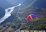 PA landscapes, gliding, Hyner View State Park, Susquehanna River, fall foliage