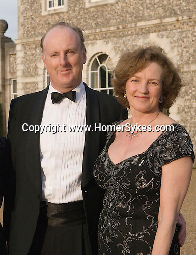 Farleigh House. Quentin Gerard Carew Wallop,10th Earl of Portsmouth Lord and Lady The Earl and Countess of Portsmouth Cannon Ball, Hampshire, UK 2008
