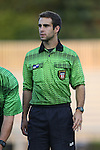 09 September 2016: Fourth Official Austin Tucker. The Duke University Blue Devils hosted the West Virginia University Mountaineers at Koskinen Stadium in Durham, North Carolina in a 2016 NCAA Division I Women's Soccer match. West Virginia won the match 3-1.