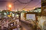 Old Shanghai neighbourhood, vanishing fast.